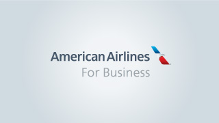 image of American Airlines For Business logo