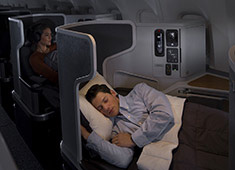 image of man sleeping in Business Extra