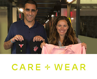 Founders of Care+Wear